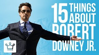 15 Things You Didn't Know About Robert Downey Jr.