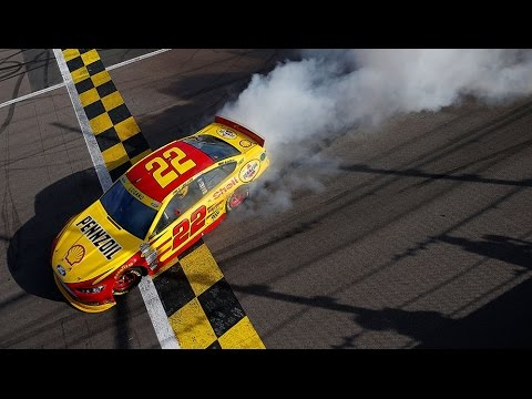 Joey Logano wins at Kansas Speedway