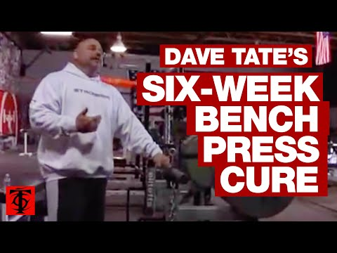 Dave Tate's Six-Week Bench Press Cure Image 1