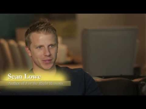 Sean Lowe (The Bachelor) Speaks on Book: For the Right Reasons