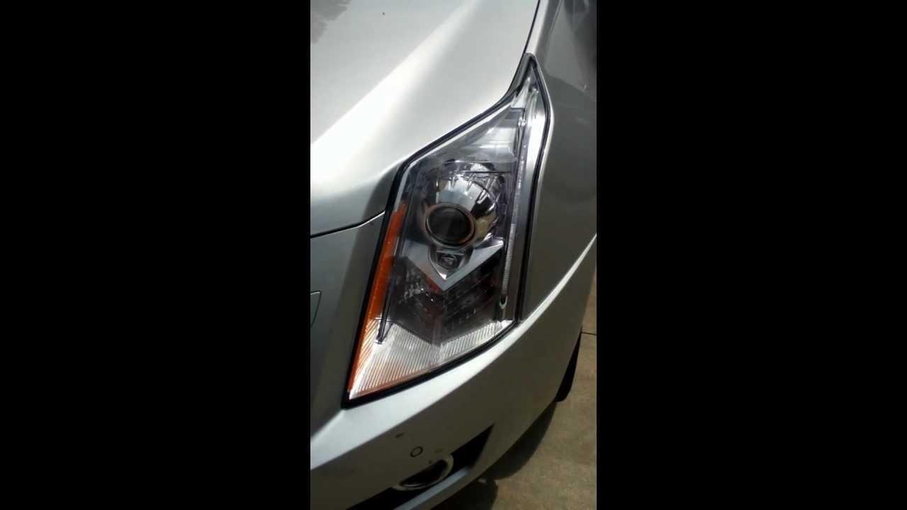 2011 Cadillac Srx Premium Headlight Movement At Start Up