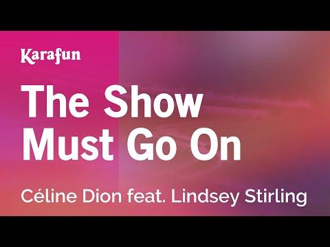 Karaoke The Show Must Go On - Céline Dion *