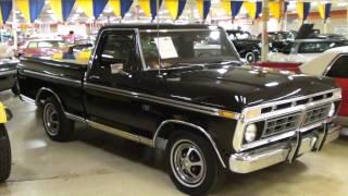 1976 Ford F100 XLT Ranger Pickup Truck - Nicely Restored Classic