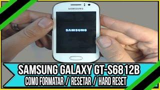 Tirar remover senha do Samsung Galaxy GT S6812B simples