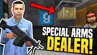 SPECIAL ARMS DEALER - Gmod DarkRP | Gun Tube System!