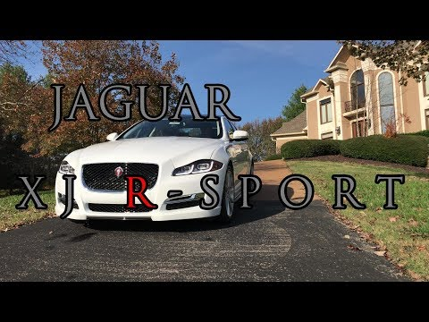 Jaguar XJ R-Sport Review! A Luxury Sports Car?