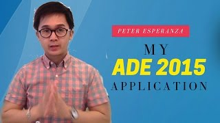 ADE Apple Distinguished Educator Application Video - Class of 2015
