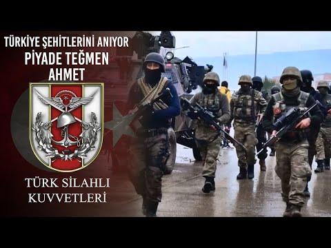 Türkiye Şehitlerini Anıyor - Piyade Teğmen Ahmet