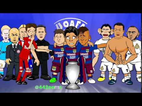 Atletico Madrid knock FC Barcelona out! (UEFA Champions League 2016 Quarter Final)
