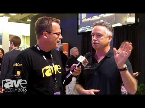 CEDIA 2016: Gary Kayye Interviews Digital Projection's Chuck Collins