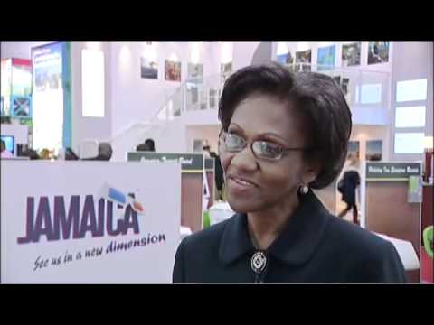 Myrtle Dwyer, Director of Sales & Markeiting, Half Moon Hotels & Resorts, Jamaica @ WTM 2010