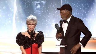 Morgan Freeman - Receives Life Achievement SAG Awards 2018 by : MrTreknation