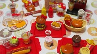 Cooking   Re ment Collection 1 Hello Kitty Hamburger Shop   Re ment Collection 1 Hello Kitty Hamburger Shop