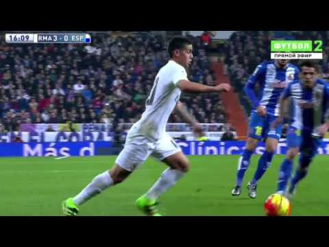 Real Madrid VS Espanyol 6:0 • HD 720p