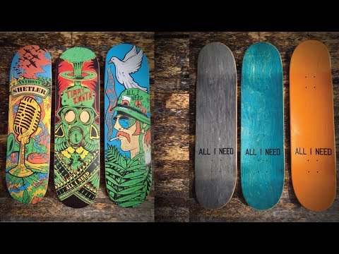 Crazy Original Wartime series skateboards - EPIC Skate Session at The Edge