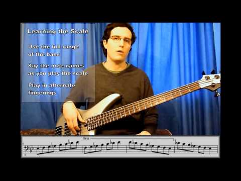 Introduction To Improvisation: The Bb Blues - Bass Guitar Lesson
