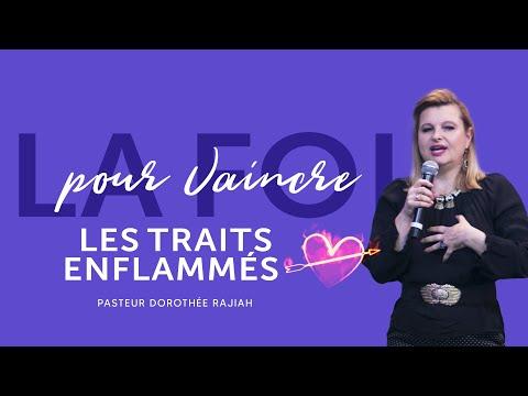 LIVE - La foi pour vaincre les traits enflammés - Pasteur Dorothée Rajiah