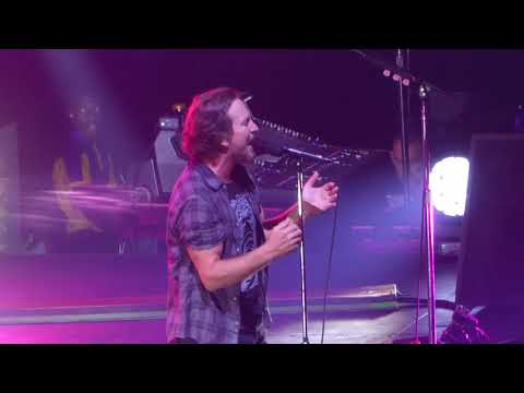 Pearl Jam - In Hiding  - London O2 Arena 17th July 2018