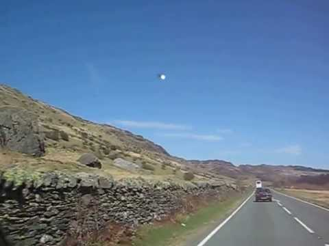 UFO Sightings UK Orb UFO Above Wales, UFO Sighting News