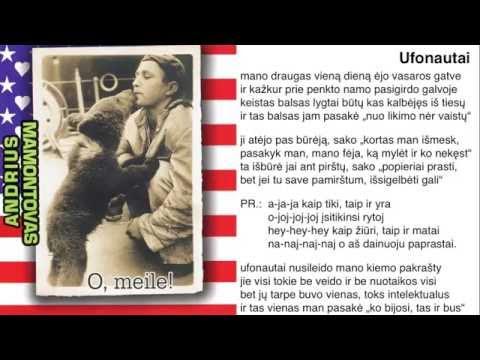 Andrius Mamontovas - Ufonautai