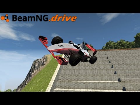 BeamNG.drive - F1 CAR CRASH
