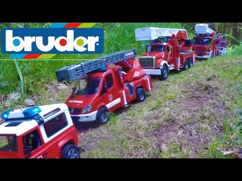 BRUDER toys river CRASH!