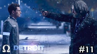 FINDING SHELTER, & HANK'S EDGE! | #11 Detroit: Become Human Episode 11 Gameplay Walkthrough