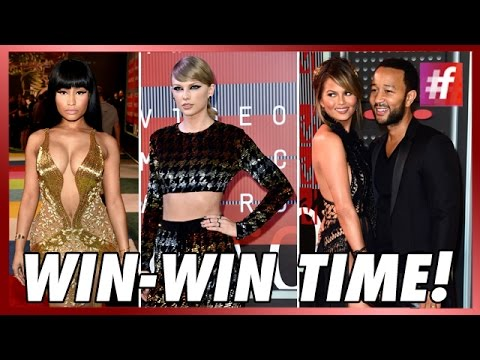 Taylor Swift, Nicki, Kanye West And Miley Cyrus - MTV VMA 2015 Big Winners thumbnail