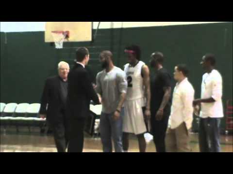 """Warren Wilson College Vs. North Greenville University - """"White out"""" Basketball Game Highlights"""
