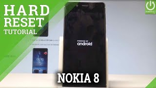Hard Reset NOKIA 8 - Wipe Data / Factory Reset / Format