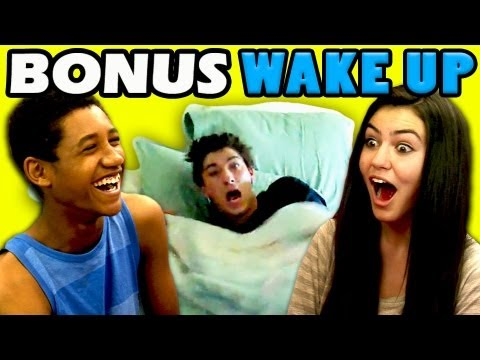 BONUS - Kids React to Wake Up Pranks