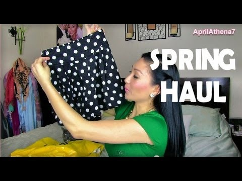 0 ✿ SPRING FASHION HAUL: H&M, Forever 21, Sephora, Stylemint ✿