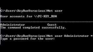 Reset/Hack/Remove Windows Login Password