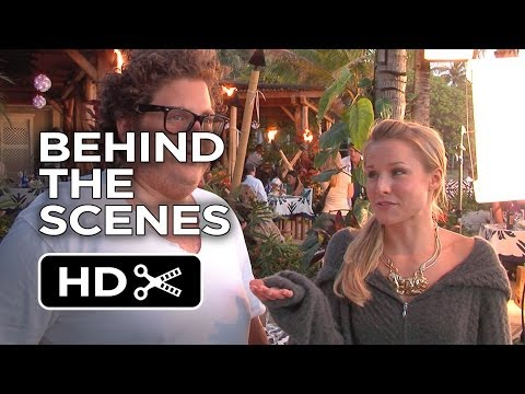 Forgetting Sarah Marshall BTS - Drunk Dinner (2008) - Kristen Bell Movie HD