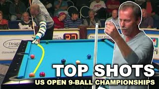 TOP 50 BEST SHOTS! US Open 9-ball Championship 2017
