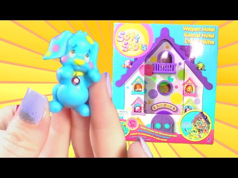 Soft Spots Series 2 Blind Bags w/ Toy Puppy Hotel!