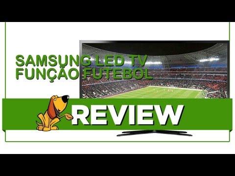 Samsung LED TV F5500 com Função Futebol - Review