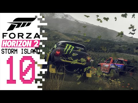 Let's Play Forza Horizon 2 (Storm Island DLC) - EP10 - Rally Ready