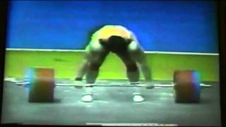Aleksandr Kurlovich Clean and Jerk 266 Kg @ 1987 WWC