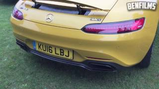 mercedes amg gts sports exhaust