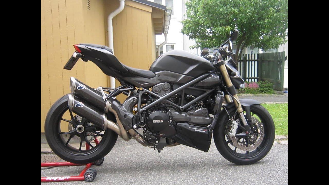 Ducati Streetfighter  Termignoni Carbon Full Exhaust