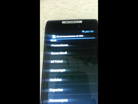Motorola RAZR XT910 4.1.2 Jelly Bean Telcel. Oficial Verizon