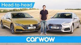 Volkswagen Arteon vs Audi A5 Sportback - which is best? | Head-to-Head