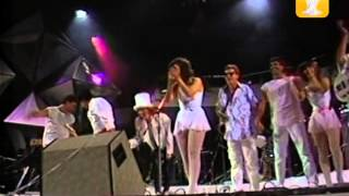 Rita Lee Lanza Perfume Festival De Viñadelmar 1985