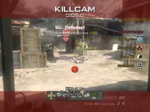 MW3 :: Awesome Slo-Mo EMP Throwing Knife