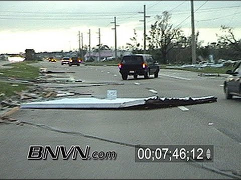 8/13/2004 Hurricane Charley Video Part 9, Punta Gorda, Florida aftermath footage