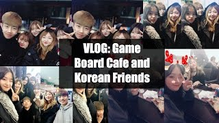 VLOG: Korean friends and gameboard cafe - AltynaySei