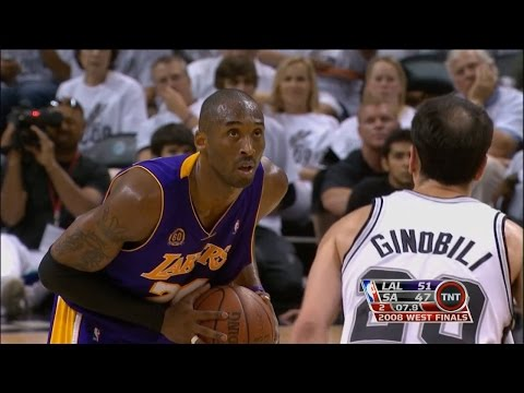 Kobe Bryant Highlights Vs San Antonio Spurs 2008 Wcf Gm4 - 28 Pts, 10 Rebs video