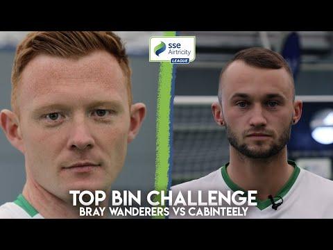 TOP BIN CHALLENGE | Gary Shaw vs Daniel Blackbyrne