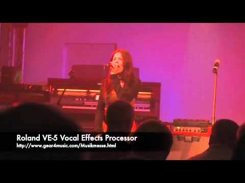 Musikmesse 2012: Roland VE-5 Vocal Effects Processor